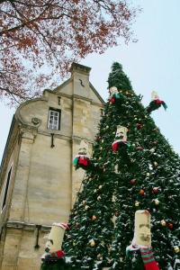 singender Weihnachtsbaum, zingende kerstboom, Valkenburg
