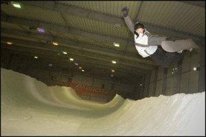 Ski- und Snowboardhalle SnowValley in Peer, Belgisch Limburg