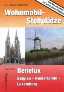 Buch Wohnmobil-Stellplätze Benelux