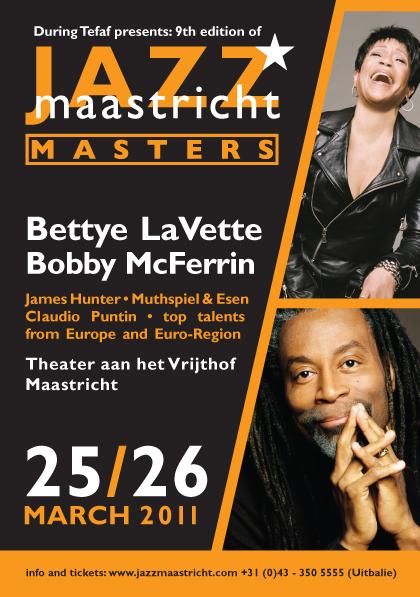 Flyer Jazz Maastricht Masters 2011