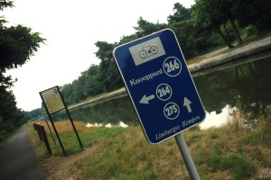 Fietsbord © Toerisme Limburg_Dominic Verhulst, Belgisch-Limburg