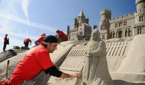 Sandskulpturen-Festival Kasteel Hoensbroek © VVV Zuid-Limburg