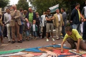 Colours of Valkenburg, International Streetpainting Festival, Valkenburg aan de Geul