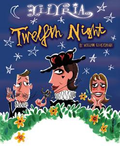 Twelfth night, William Shakespeare, Illyria, The English Theatre