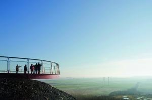 Baesweiler mit Blick über die Grünroute