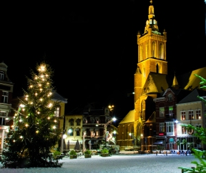 Roermond im Winter  © Limburg Tourismus