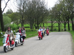 Vespa-Tour durch das Zuid-Limburgische Hügelland