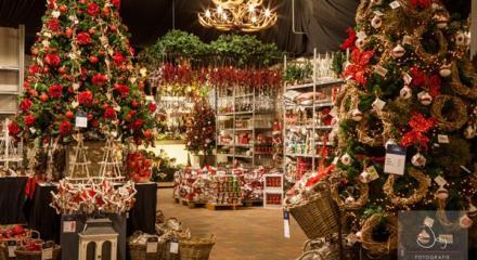 Weihnachtsausstellung Gartencenter Leurs