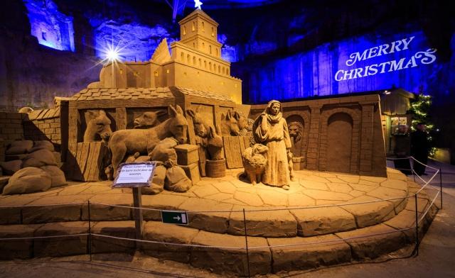 Europas größte Weihnachtskrippe - Magischer Sand in Valkenburg