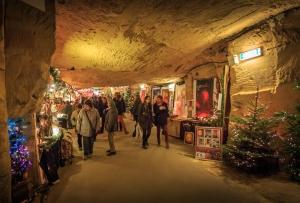 Weihnachtsstadt Valkenburg - Fluweelengrot