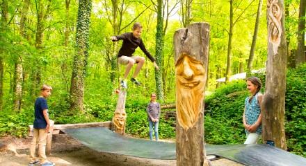 Trampolinpfad © Speelpark Klein Zwitserland