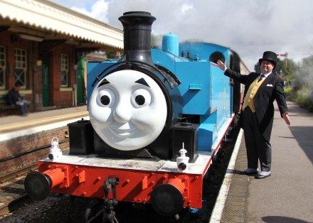 Thomas die Lokomotive © Tourismusbüro Limburg